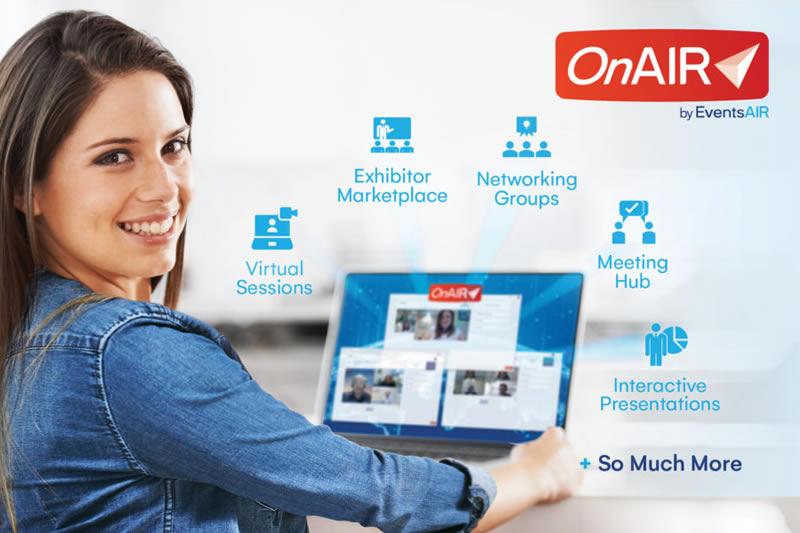 onair virtual conferences by EventsAir